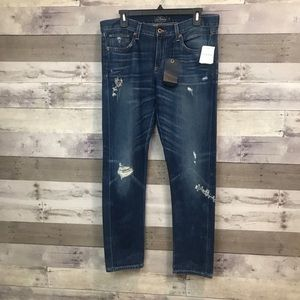 Lucky Brand Sienna Slim Boyfriend Cropped Jeans